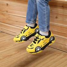 2020 ילדי נעלי אביב חדש קריקטורה רכב סניקרס ילדים עור רשת לנשימה נעלי ריצה מזדמנים ילד בנות ספורט נעליים