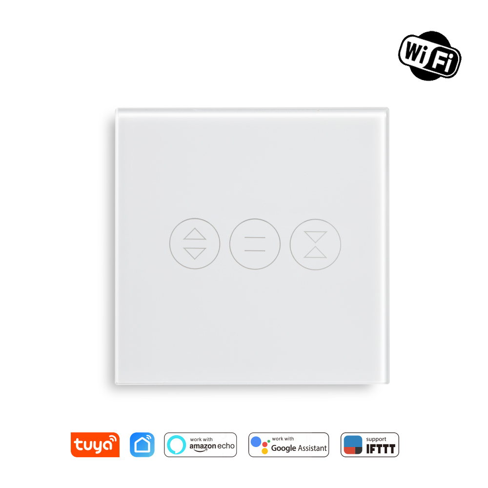Tuya Smart Life WiFi Curtain Blind Switch For Roller Shutter Electric Motor Google Home Alexa Echo Voice Control DIY Smart Home