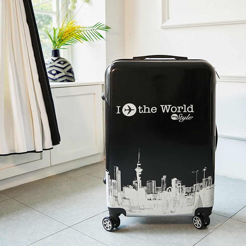 Maleta de viaje de 24 pulgadas ABS + PC, de 20 pulgadas maleta con ruedas, maleta con ruedas para equipaje de viaje, bolsa de equipaje para niños