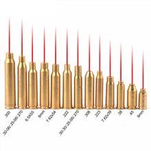 CAL .223 30-06.308 Cartridge Tactical Bore Sighter Red Hunting Red Laser Boresighter Red Sighting CAL7.62x39 7.62X54 12GA 20GA цена в Москве и Питере