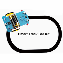 Интеллектуальный отслеживающий умный автомобиль робот DIY наборы с TT Мотор колеса электронный PUO88