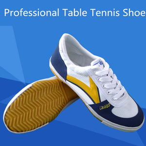 Professional Table Tennis Sneakers High-end Ping Pong Shoe Shock Absorption Antiski for Badminton Training L2139SPB