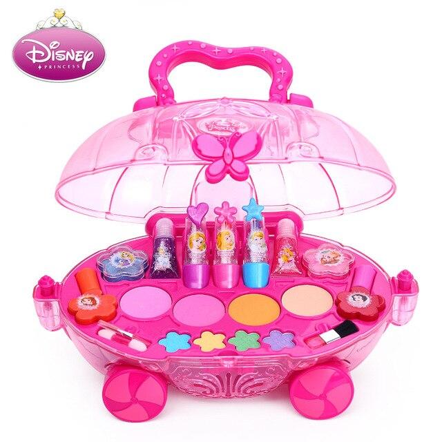 Children's Cosmetics Set Girl Suitcase - Princess Makeup Box 1