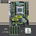 Placa base de escritorio con ranura m2 NVMe SSD marca HUANAN ZHI X79 LGA2011 CPU Intel xe5 2650 SR0KQ RAM (4*4G) 16G DDR3 REG ECC