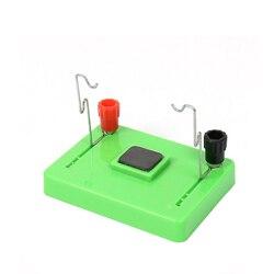 DIY DC Elektrische Motor Modell elektromagnetische schaukel Physik Experiment Aids Kinder Bildungs Studenten Spielzeug Schule Wissenschaft