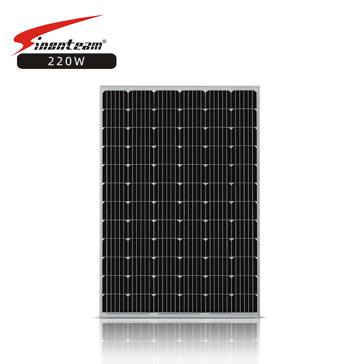Monocrystalline Silicon home lighting system energy <font><b>36v</b></font> <font><b>220</b></font> watt solar panel 220W 230w monocrystalline solar panel image