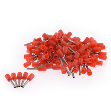 100PCS/Pack E7508 Tube insulating Insulated terminals Cable Wire Connector Insulating Crimp Terminal