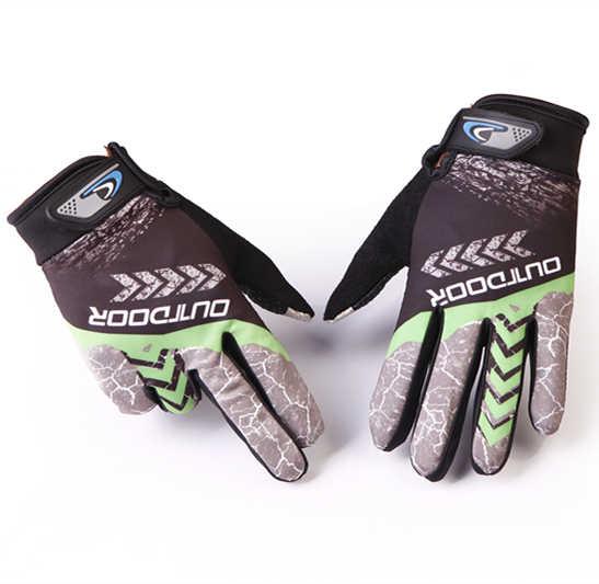 2 pçs da bicicleta luvas de ciclismo dedo completo luvas de ciclismo dos homens das mulheres touchscreen mtb luvas verão respirável para a corrida