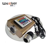 Westbay 16W RGB LED Fiber Optic Light Kit Led Optical Fiber Engine PMMA Fiber For Star ceiling Room Decoration