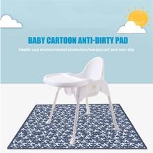 Children's Highchair Cushions Baby Non-slip Crawling Mats Play Mats Picnic Mats Anti-dirty And Waterproof Mats Baby Toys Home