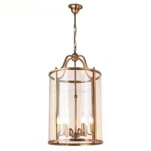 Американский подвесной светильник s евро лестница коридор домашний сад бронза карнавал подвесные лампы led обеденный светильник LO7309 птичий ...
