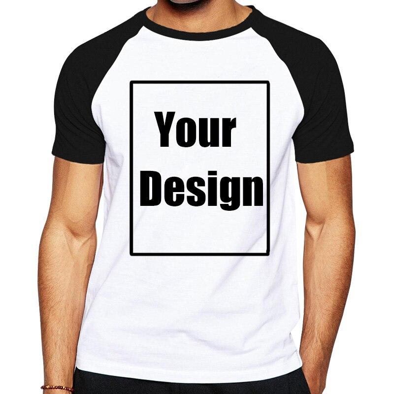Hit Color Customized T Shirt Men Print Your Own Design Soft Cotton T-Shirt Designer Logo For Men Plus Size Clothes Dropshipping
