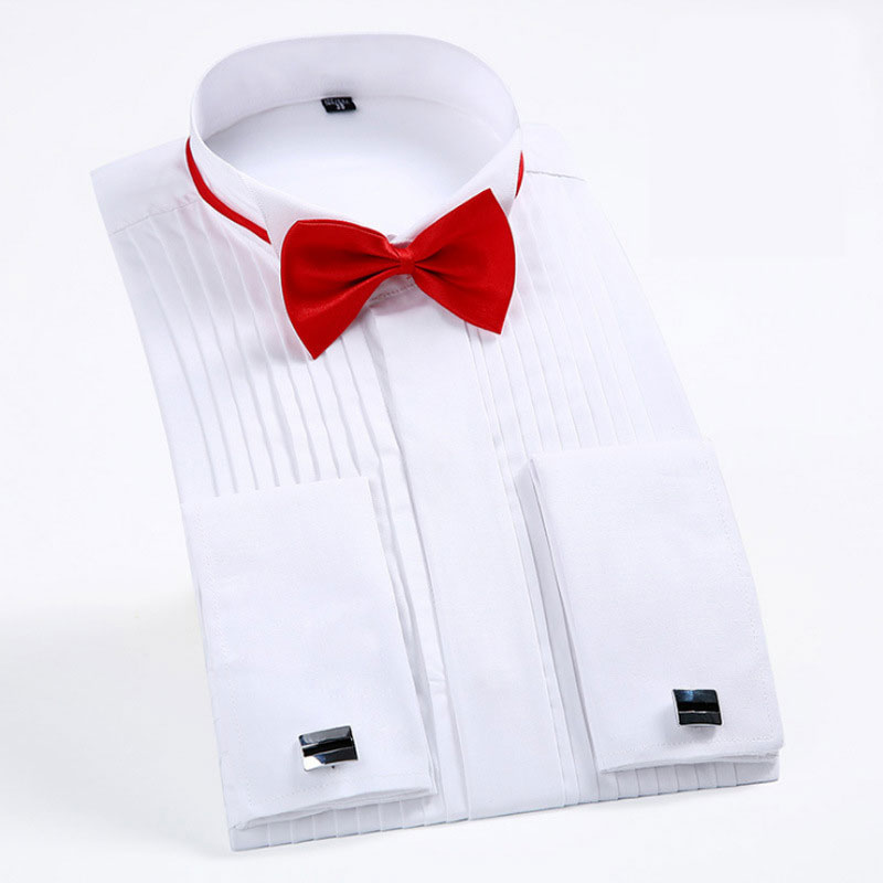 Palm Tree Red Green Bow Tie for Men Tuxedo /& Wedding Solid Color