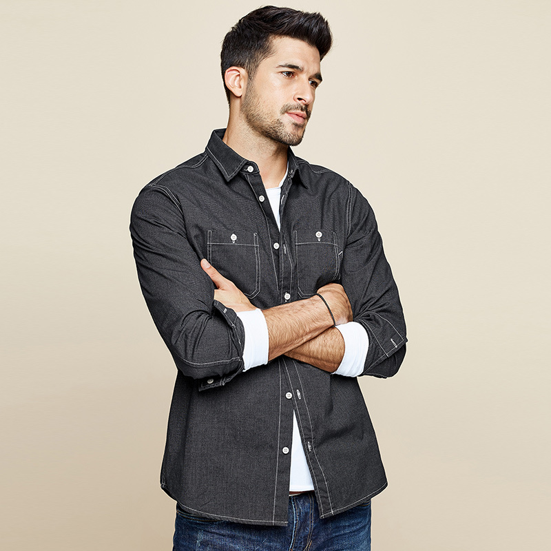 Dress Button Casual Slim Fit Shirt 2