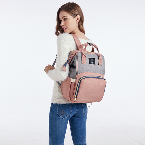 Diaper Bag Backpack Multifunction Travel Back Pack Maternity Baby Nappy Changing Bags Large Capacity Waterproof and Stylish Islamabad