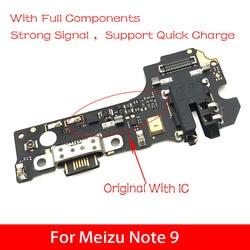 Mikro Dock Konektor FPC Papan untuk Meizu Note 9 Usb Port Kabel Pengisian Daya Fleksibel Pengganti