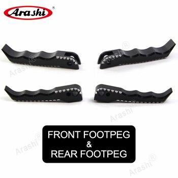 Arashi Aluminum Front Footpeg Rear Footrest For SUZUKI GSXR1300 HAYABUSA GSX-R GSXR 1300 GSX1300R 2013 2014 2015 2016 2008-2017