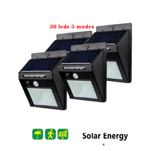 2/4PCS 30 LED Solar light Solar Power PIR Motion Sensor Wall Light Outdoor Waterproof Energy Saving Street Garden Security Lamp 1 4pcs 30 40 led solar power lamp pir motion sensor wall light outdoor waterproof energy saving street garden yard security lamp