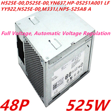 New PSU For Dell PowerEdge T3400 410 48P 525W Power Supply H525E-00 D525E-00 YN637 HP-05251A001 YY922 N525E-00 M331J NPS-525AB A