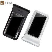 Yeni Xiaomi Yüzmek Su Geçirmez Telefon Çanta Kılıfı Cep Telefonu Çantası Kuru Kayış Ile iphone için kılıf 8 Artı 7 7 P 6 6 s Samsung 6 inç Yüzme