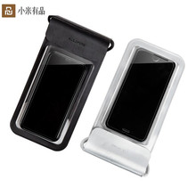 新しいxiaomi泳ぐ防水電話バッグポーチ携帯電話バッグドライでストラップiphone 5 8プラス7 7 p 6 6 sサムスン6インチ水泳