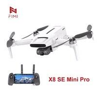FIMI X8 SE Mini Pro Kamera Drone 4K HDR Video 8KM Reichweite GPS 3-achsen Gimbal drohne Berufs Hubschrauber mit Fernbedienung