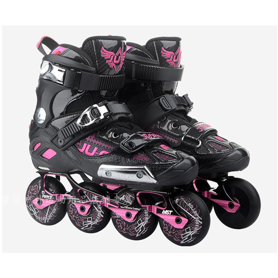 War Wolf Inline Skates Rockered Frame Slalom Skating Shoes Inline Skates Professional Patines For Street Free Skating Sliding