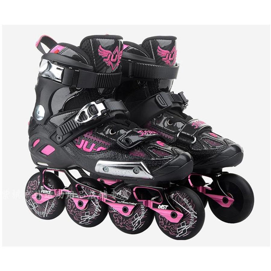 War Wolf Inline Skates Rockered Frame Slalom Skating Shoes Inline Skates Professional Patines For Street Free Skating Sliding