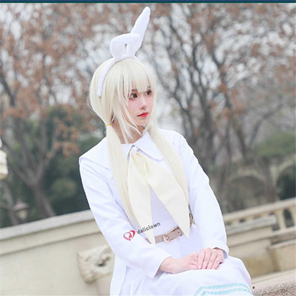 2020 del nuovo del Anime di Beastars Costume Cosplay Haru Cosplay Delle Donne di Scuola Uniforme Costume Parrucca Coniglio Della Ragazza Giapponese Vestito Sveglio