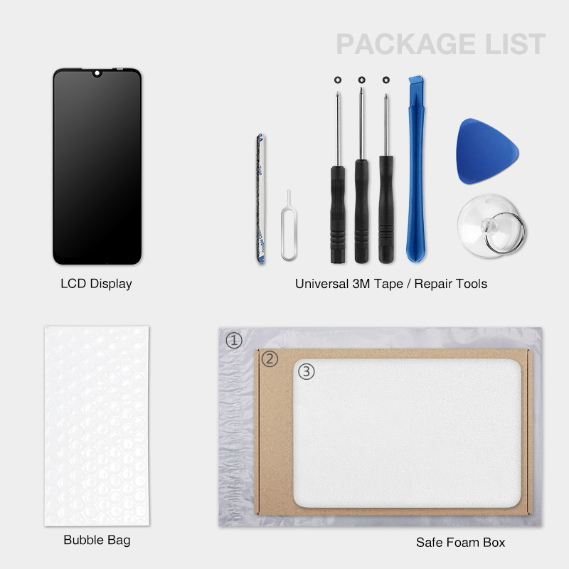 For Xiaomi Mi A1 LCD Display + Frame 10 Touch Screen For Xiaomi Mi 5X LCD Digitizer TouchScreen Panel Replacement Spare Parts