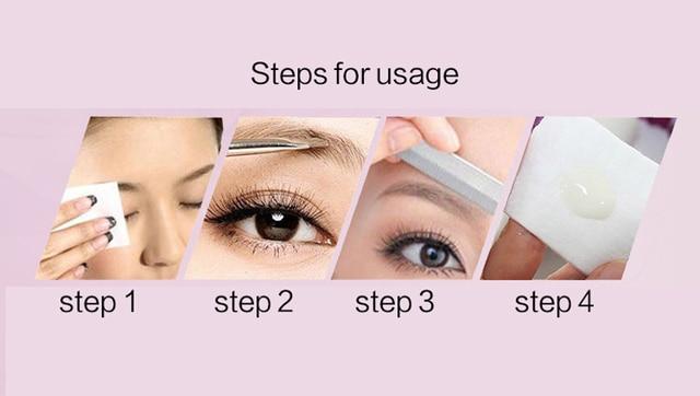 Women Lady Stainless Steel Eyebrow Scissor Hair Trimming Eye Brow Shaver Scissor Makeup Hair Remover Epilator Makeup Tools 5