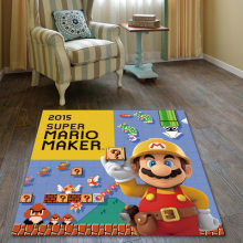 Large Super Mario Nintendo Game Rug Doormat Anti Slip Floor Mat Carpet Home Carpet Hotel Living Room Floor Mats(China)