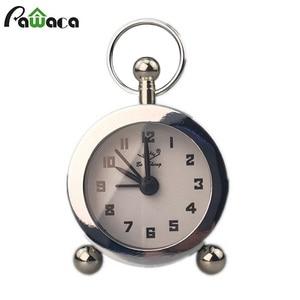 Mini Alarm Clock Retro Mechani