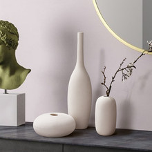 Vase Decoration Home Nordic Scandinavian Style Ceramic Vase Decorative Vases Modern Living Room Decoration Modern Home Decor