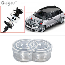 2pcs Car Shock Absorber Spring Bumper Power Autobuffer Cushion Car styling Accessories Universal High Elasticity Strength Safety
