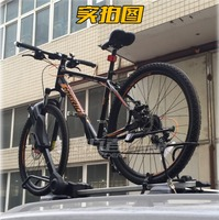 For big Tube Tire LEVO Bike Bicycle Rack Fix Roof Top Bike Car SUV Racks Carrier Quick Install Bike Roof Rack MTB Bike Accessory
