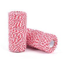 100 м/рулон шпагат для хлопковой гирлянды шнур хлопковый бутылки