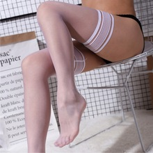 Stockings Thigh Silicone Womens Ladies' Lace-Top Sexy 5D Thin 0920 Heel-Shaped