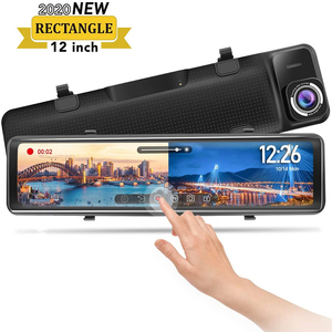 12 inch Touch Screen Rearview Mirror Str