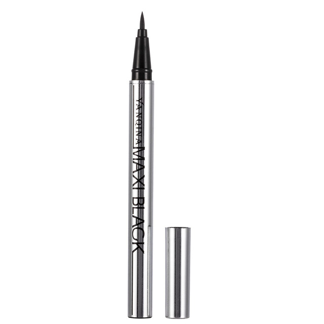 YANQINA Ultimate Black Long Lasting Eye Liner Pencil Waterproof Eyeliner Smudge-Proof Cosmetic Beauty Makeup Liquid Delineador 5