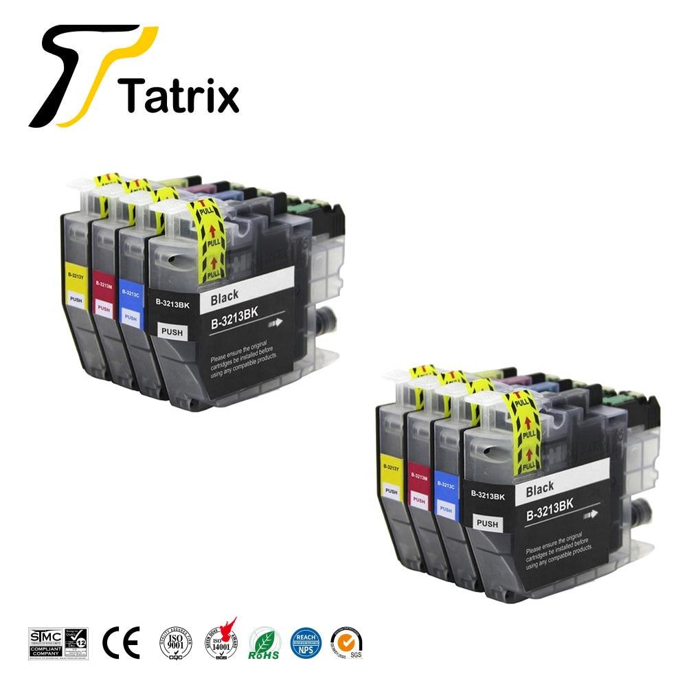 Tatrix совместимый чернильный картридж для принтера Brother 3213XL LC3213 костюм для Brother DCP-J772DW DCP-J774DW MFC-J890DW MFC-J895DW
