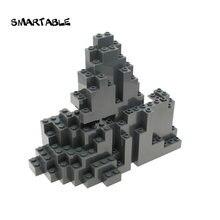Строительные блоки smartable rockery mound rock детали moc игрушки