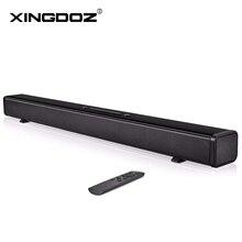 TV Soundbar 60W Bluetooth hoparlör şık Hifi ev sinema sistemi ses çubuğu 3D Stereo Surround desteği optik/AUX/TF kart/USB