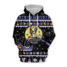 Tessffel Tracksuit Animal Funny Merry Christmas SantaClaus Colorful Casual 3DPrint Zipper/Hoodies/Sweatshirt/Jacket/Men Women s1