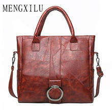 Large Capacity Handbags for Woman 2019 High Quality Female Leather Big Zipper Crossbody Bag Ladies Girls Bolsa Feminina