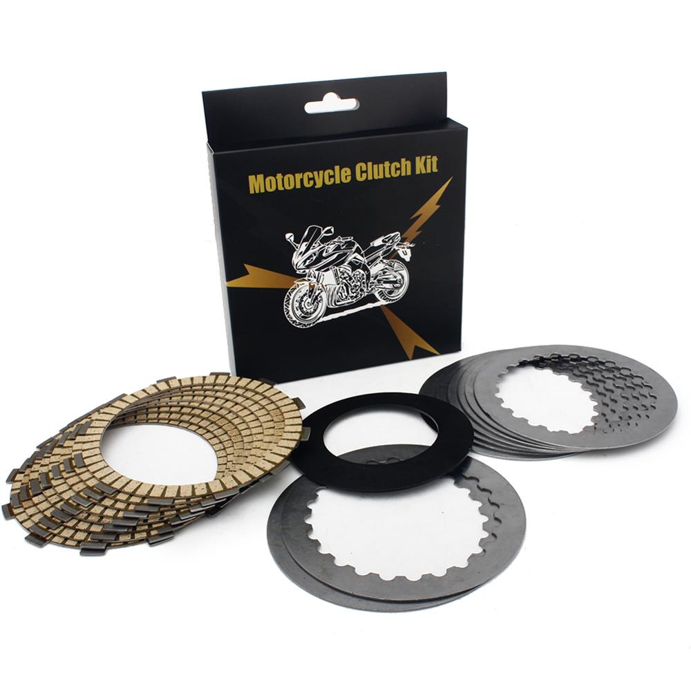 BIKINGBOY Clutch Friction + Steel Plates + Springs Kits For KTM 450 SX-F XC-F XC-W EXC EXC-F 12-18 500 EXC 12-16 500 EXC-F 17-18