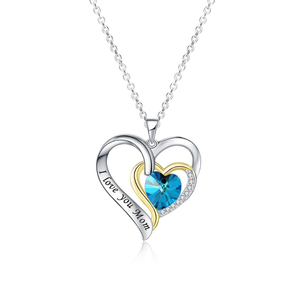 """925 Sterling Silver Heart Best Mother Necklace Pendant £39 16/"""" inch Pearl"""