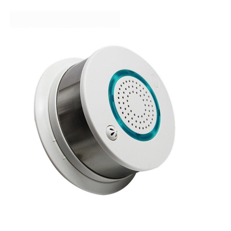 Независимый детектор дыма, интеллектуальный детектор дыма, высокая чувствительность, низкий заряд батареи, напоминание, большой объем, дет...