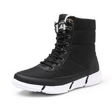 Men Boots 2019 New Winter Shoes For Men Waterproof Snow Boots Lightweight Winter