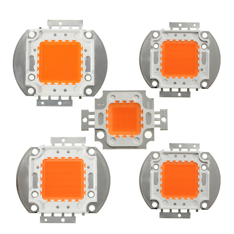 10W 20W 30W Welding Free LED COB Chip For Plants Growing Grow Tent LED Grow Light Full Spectrum LED Phyto Lamp